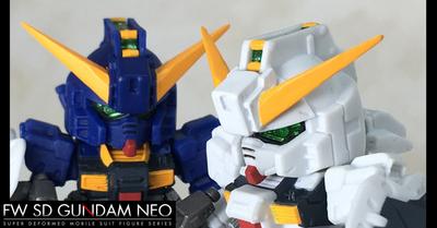 SDガンダムNEO 02 「ガンダムTR-1」2体のご紹介です!