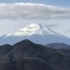 真冬に寒い思いをして見た、富士山は格別美しい