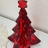 【クリスタル】ジングルベル♩ 真っ赤なクリスマスツリーがようやくやってきました