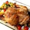 スタッフィングなし。ハーブと残り物野菜の簡単ローストチキン。【クリスマス・ディナー 備忘録】