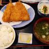 「磯丸水産」の「大判アジフライ定食」