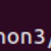 ubuntu18.04にpipを入れた。