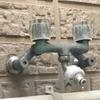 蛇口のポタポタ水漏れを修理(コマを交換)