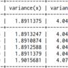 パラメータ推定(多変量正規分布)