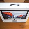 iMac Retina 4Kディスプレイモデルを買ってみたので設置やら初4Kディスプレイの感想など