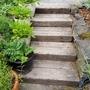 ガーデンステップの材料作り(その3)