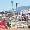 6/24香川県境で引き継ぎ~愛媛コーススタート
