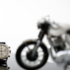 078.Heuer Carrera12 Model & Norton Commando750 Fastback