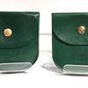 イルビゾンテのミニ財布「グリーン」の経年変化を楽しむ