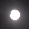 部分日食を神戸で観測 2019年1月6日
