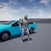 UE4:WheeledVehicleを用いたアクターへの乗車処理