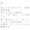 【PEUGEOT】3008車検証