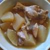 鶏と大根の煮物 醤油味
