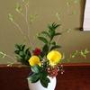 池坊 芝岡翠風様による生花作品の数々