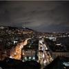 ナポリの夜景を見ることができる丘公園