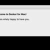 Docker for Macのインストールと複数VMをつくるまで