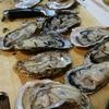 殻付きの牡蠣と向かい合った夜