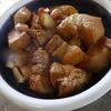 幸運な病のレシピ( 544 )朝:キャベツ炒め、豚バラブロックテリテリ(リヨー)、イカ焼き
