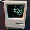 初代マッキントッシュ型のApple Watch用充電スタンド:elago W3 STANDレビュー