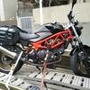 #バイク屋の日常 #ホンダ #VTR250 #レッカー中 #バッテリー上がり