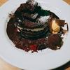 デニーズ×ゴディバ コラボ チョコレートパンケーキ