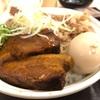 松屋『牛と味玉の豚角煮丼』味染み豚の角煮とトロトロの味玉ってさもう正義でしかない‼️アンチダイエット食の王道だ‼️