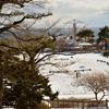 冬晴れの函館公園…