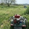 昨日と今日で、第一回目の草刈り終了!