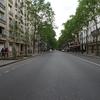 六日目~交通規制中のパリ