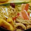 1月14日 モツ鍋と言ったがホルモン鍋だ。