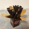 ポキポキ食感が美味しい【トリアノン】チョコレートスティックダークミント@カルディ