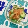 【シャーベット酢】いつもの酢の物が夏にぴったりの冷たい副菜に!