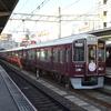 鉄道の日常風景19…阪急淡路駅20190402
