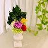 【プリザで和な作品①】お仏壇にも!プリザーブドフラワーで作る手作り仏花
