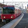 知立のえきをいきかう電車のふうけい - 2019年1月11日