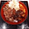 【牛焼みらく】阪神のスナックパークでタレと肉がおいしい焼肉丼!価格も納得!単品でもOKでおつまみにもできる!