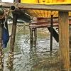 ボート置き場の安全対策 ❗  【  危険な箇所は迷わずに修繕しましょう👆  】