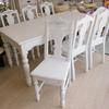 白いダイニングテーブル&チェアー限定新入荷
