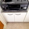 キッチン収納公開3。調味料は無印良品を使ってすっきり収納