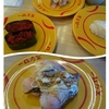 スシローランチで大満足:お寿司、パフェ、カフェオレ♪