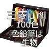 【100色の色鉛筆】三菱uniは一生物!プレゼントにおすすめです。