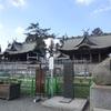 阿蘇神社 復旧工事の真最中