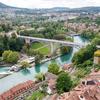 ベルン!川と緑に囲まれた中世の街を観光!<ベルン大聖堂、アインシュタイン・ハウス、クマ公園、バラ公園>