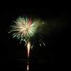 君津市民花火大会、亀山湖での花火大会に行く