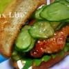 ★チキン照り焼きサンドイッチ★