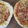 トマトピューレをピザソースに