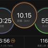 ジョギング10.15km・出力ゼロと鼻呼吸を意識した低強度ジョグの巻