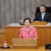 県議会最終日、県議団を代表して討論ー日本共産党の見解を堂々と表明できる機会