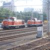 水戸駅にいたDE10×2