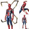 【アベンジャーズ】マフェックス『アイアン・スパイダー/IRON SPIDER』可動フィギュア【メディコム・トイ】より2019年8月再販予定♪